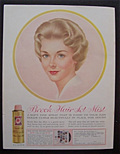 1960 Breck Shampoo with a Beautiful Breck Girl (Image1)