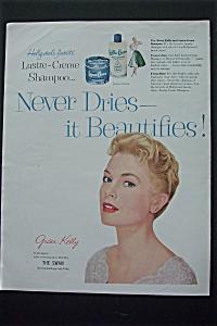 1956 Lustre Creme Shampoo with Grace Kelly (Image1)