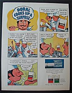 1971 Doral Cigarettes with Doral Cooks Up A Surprise (Image1)