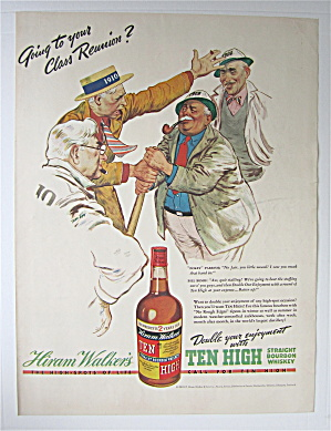 1938 Ten High Whiskey With Going To Your Reunion