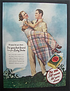 1935  Lucky  Strike  Cigarettes (Image1)