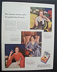 1934 Camel Cigarettes with Women Who Smoke Camel (Image1)