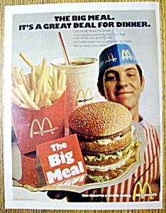 1971 Mc Donald's Big Meal (Image1)