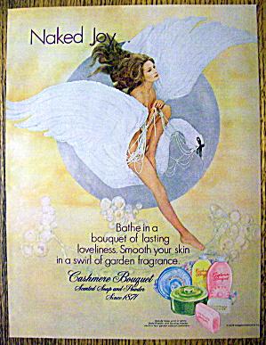 1972 Cashmere Bouquet Soap & Powder w/Woman on Swan (Image1)