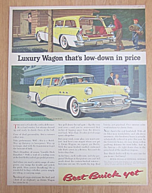 1956 Buick with the Estate Wagon  (Image1)