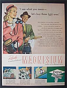 Vintage Ad: 1946 Dow Metal Magnesium (Image1)