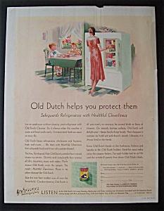 Vintage Ad: 1931 Old Dutch Cleanser (Image1)