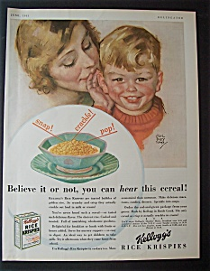 1931  Kellogg's  Rice  Krispies  Cereal (Image1)