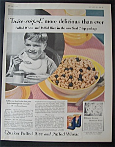 1931  Quaker  Puffed  Rice & Puffed  Wheat (Image1)