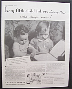 1933  Cream  Of  Wheat  Cereal (Image1)