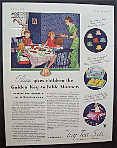 1933  Children's  Toy  Tea  Sets (Image1)