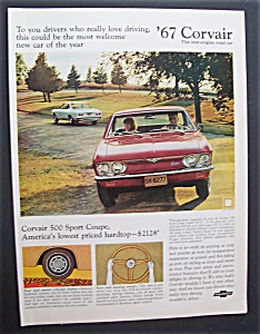1966 Chevrolet Corvair 500 Sport Coupe