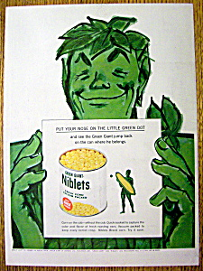 1960 Green Giant Niblets with the Green Giant (Image1)