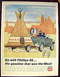 Vintage Ad: 1966 Phillips 66 Gasoline (Image1)