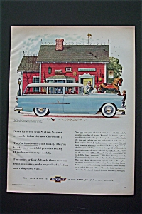 1956 Chevrolet with Two Ten Station Wagon (Image1)