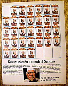 Vintage Ad: 1967 Kentucky Fried Chicken