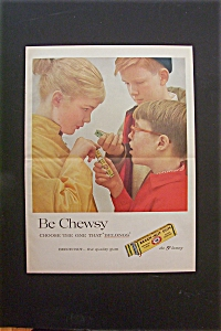 1959 Beech Nut Gum with Boy Giving Girl Piece of Gum (Image1)