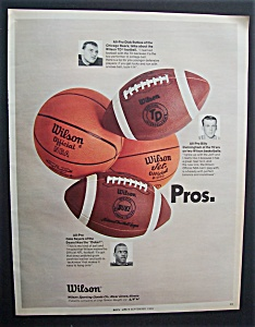 1969  Wilson  Sporting  Goods  with  Dick  Butkus (Image1)