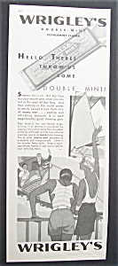 Vintage Ad: 1931 Wrigley's Double Mint Chewing Gum (Image1)