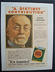 Vintage Ad: 1931 Lucky Strike Cigarettes (Image1)