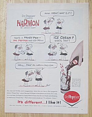 1962 Dr. Pepper with Harmon By Johnny Hart  (Image1)