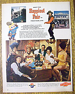 1967 Frontierland With Fritos Chips And Pepsi Cola