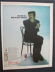 1967 Smirnoff Vodka with Paul Ford as Friendly Monster (Image1)
