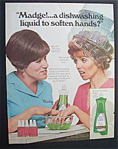 1969  Palmolive  Dishwashing  Liquid  with  Madge (Image1)