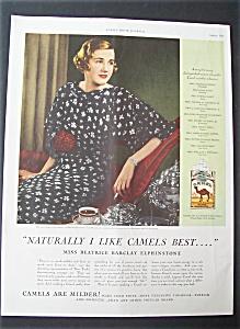 1935  Camel  Cigarettes (Image1)