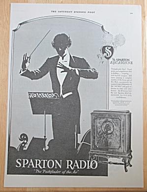 1928 Sparton Radio with Man Conducting Band  (Image1)