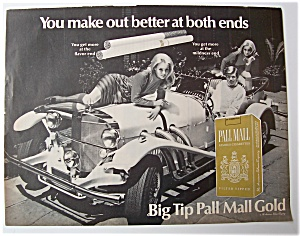 1968 Pall Mall Cigarettes