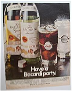 1971  Bacardi  Puerto  Rican  Rum (Image1)