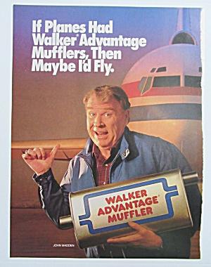 1990 Walker Advantage Muffler w/ Football's John Madden (Image1)