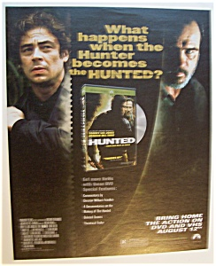 2003 Movie Ad For Hunted