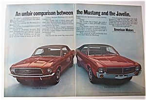 1967 Ford Mustang & Javelin