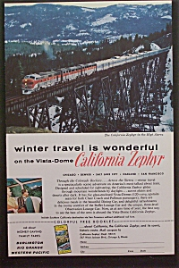 1959 California Zephyr with The High Sierra (Image1)