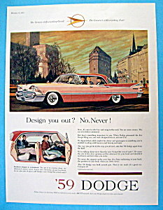 1959 Dodge with a Great Pink Dodge  (Image1)