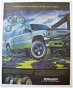 Vintage Ad: 2004 BF Goodrich Take Control Tires (Image1)