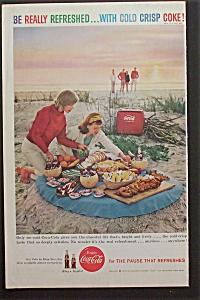 1959 Coca Cola (Coke) with Women & Picnic (Image1)