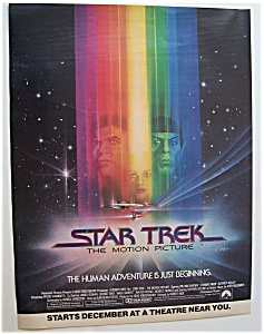 1979 Movie Ad For Star Trek The Motion Picture