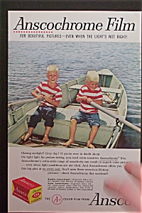 1959 Ansco Film with Twin Boys Rowing Boat (Image1)