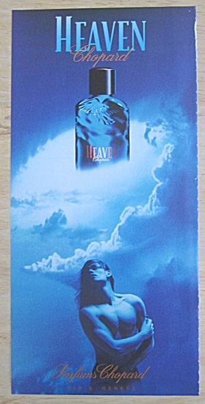 2004 Heaven Chopard Cologne with Handsome Man  (Image1)