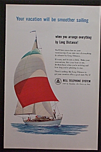 1959 Bell Telephone System with People on Sailboat (Image1)