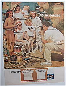 1966 Clorox Bleach with Man Taking a Picture (Image1)