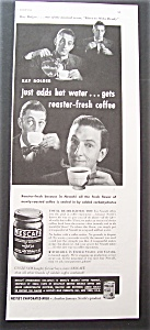 1946 Nescafe Coffee With Ray Bolger