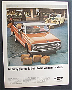 1968 Chevy Half-ton Fleetside Cst & Stepside Pick Ups