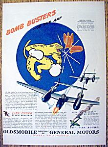 Vintage Ad: 1944 Oldsmobile Bomb Busters (Image1)