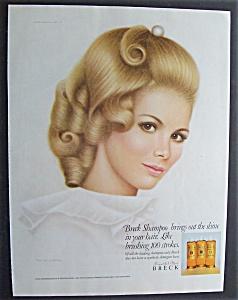 Vintage Ad: 1968 Breck Shampoo (Image1)