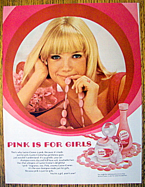 1968 Pink Lustre Creme Shampoo with Lovely Blonde Woman (Image1)