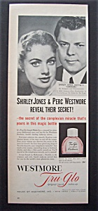 1956 Westmore Tru-glo Make-up With Shirley Jones
